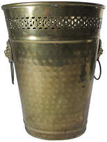 One Kings Lane Vintage English Brass Umbrella Stand