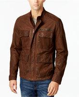 Lucky Brand Men's Field Leather Bomber Jacket