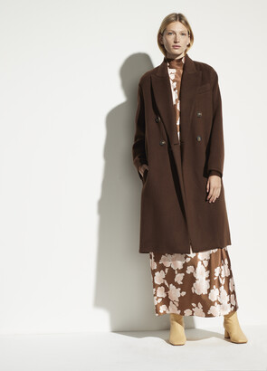 Vince Double Breasted Oversized Coat