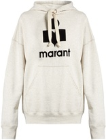 Etoile Isabel Marant Mansel Marant-print hooded jersey sweatshirt