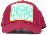 DSQUARED2 Brothers patch baseball cap