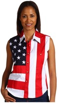 Scully Sleeveless Patriot Shirt