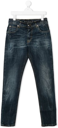 John Richmond Junior Faded Denim Jeans