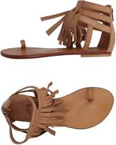 JFK Toe strap sandals - Item 11144134