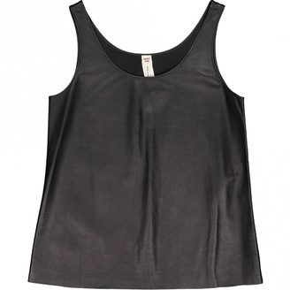 Hermes Black Leather Top for Women