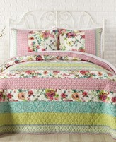 Jessica Simpson Boho Garden Cotton Full/Queen Quilt