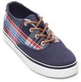 Tommy Hilfiger Final Sale- Plaid Boat Sneaker