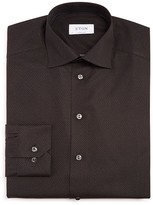 Eton of Sweden Pindot Solid Regular Fit Dress Shirt