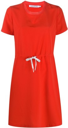 Calvin Klein Jeans drawstring waist T-shirt dress