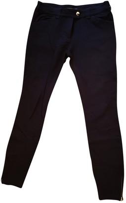 Balenciaga \N Black Spandex Trousers