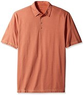 Van Heusen Men's Big and Tall Short Sleeve Popcorn Polo