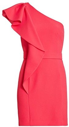 Safiyaa Mirlande One-Shoulder Dress