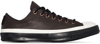 Converse Brown GORE-TEX Leather Chuck 70 low top sneakers