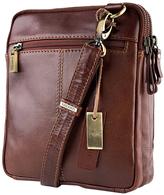 Visconti Vintage Leather Crossbody Bag