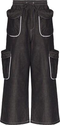 Sunnei Pocket-Detailed Cargo Pants