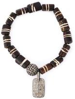 Thumbnail for your product : Loree Rodkin Bead Diamond Charm Bracelet