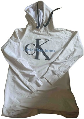Calvin Klein White Cotton Knitwear for Women