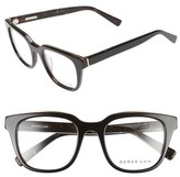 Derek Lam Women's 50Mm Optical Glasses - Black Brown