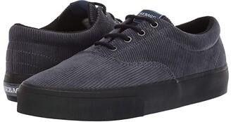 Sebago John Corduroy (Dark Grey/Black) Women's Shoes