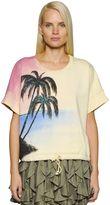 Faith Connexion Palm Graffiti Heavy Cotton Sweatshirt