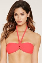 Forever 21 FOREVER 21+ Strappy Bandeau Bikini Top