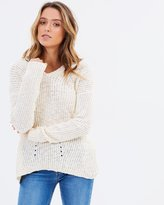 Sass Agatha Split Back Knit