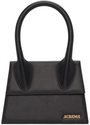 Jacquemus Black Le Grand Chiquito Top Handle Bag