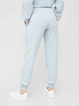 Very Seam Detail Oversized Joggers - Light Blue