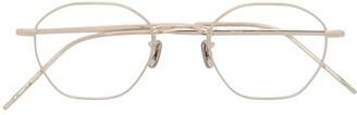 Eyevan 7285 772 Geometric-Frame Optical Glasses