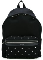 Saint Laurent 'Hunting' backpack - men - Cotton/Leather - One Size