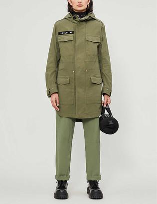 Zadig & Voltaire King hooded cotton-blend parka jacket