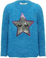 M&Co Sequin star jumper