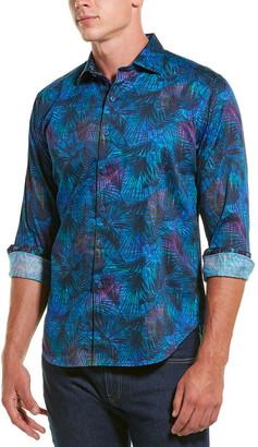 Robert Graham Leafy Dreams Classic Fit Woven Shirt