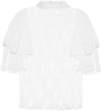 Etoile Isabel Marant Isabel Marant, étoile Vetea cotton lace blouse