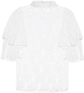 Etoile Isabel Marant Vetea cotton lace blouse