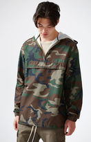 PacSun Camouflage Packable Anorak