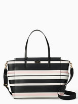 Kate Spade Grove street classic stripe kaylie baby bag