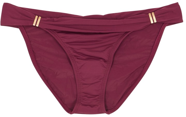 Vix Paula Hermanny Bia bordeaux bikini briefs