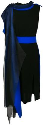 Maison Margiela contrast trim dress