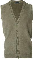 Jacob Cohen sleeveless knitted cardigan
