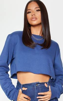 PrettyLittleThing Ecru Ultimate Cropped Sweater