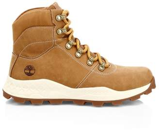 Timberland Brooklyn Lace-Up Leather Hiking Boots