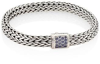 John Hardy Classic Chain Gemstone & Sterling Silver Medium Bracelet
