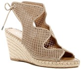 Franco Sarto Perforated Wedge Sandal