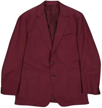 Gucci Burgundy Cotton Jackets