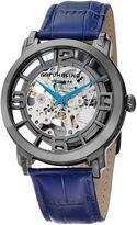 Stuhrling Original Mens Blue Strap Watch-Sp12897