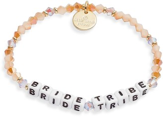Little Words Project Bride Stretch Bracelet