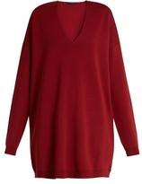 The Row Miru V-neck sweater