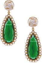 Grazia Christie Nicolaides Earrings in Green | FWRD