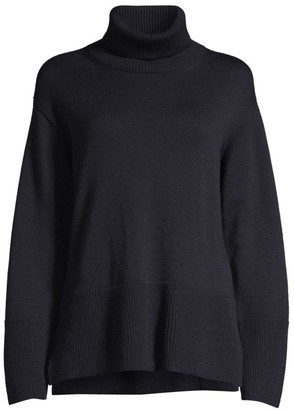 Piazza Sempione Virgin Wool Turtleneck Sweater